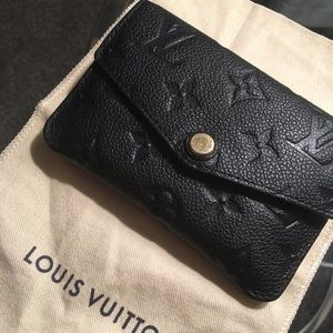 Louis Vuitton Monogram Empreinte Leather KeyPouch